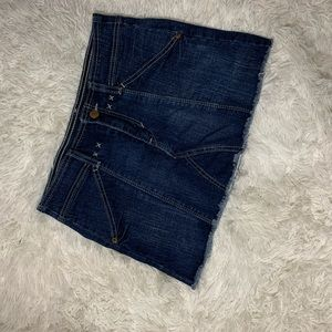 Dark blue Jean skirt